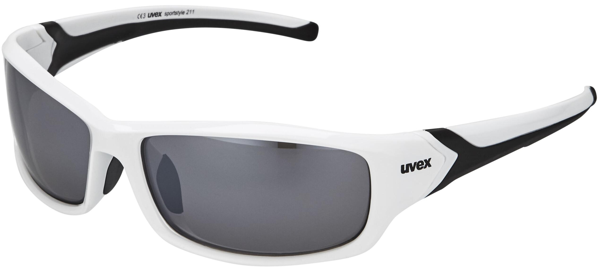 UVEX sportstyle 211 - Lunettes cyclisme - blanc - Boutique de vélos ... c5f720e2ebfc